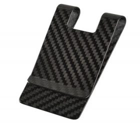 money clip carbon fiber 3k twill