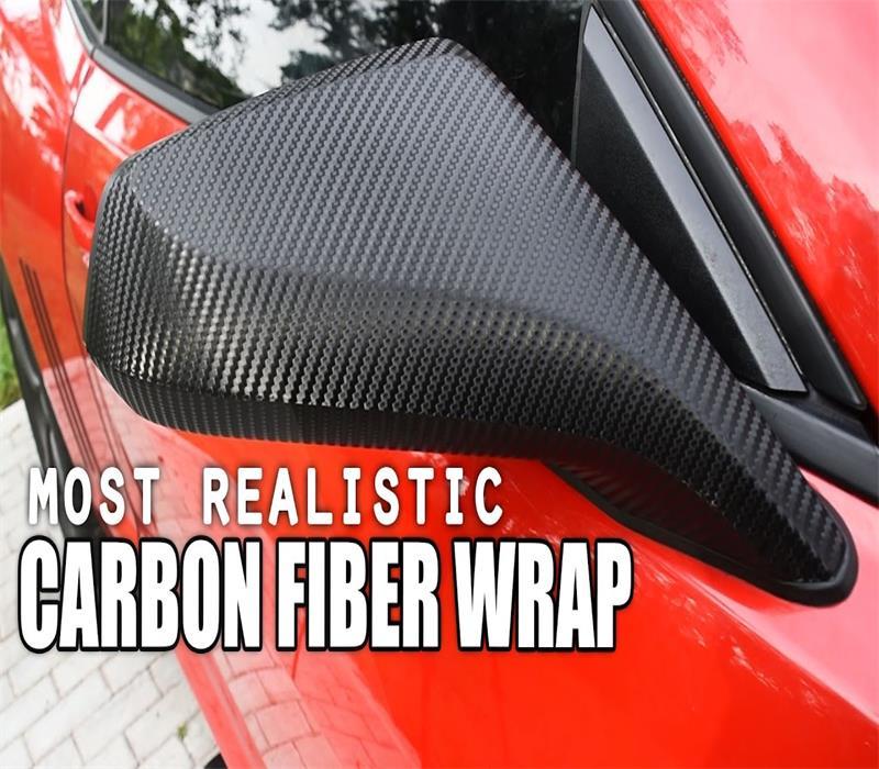 most realistic carbon fiber wrap